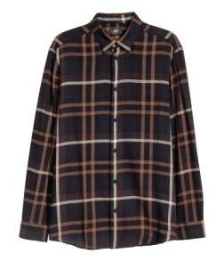 flannel hm men