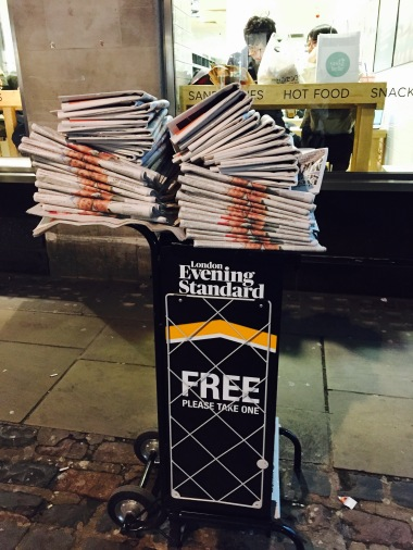 Free newspapers!