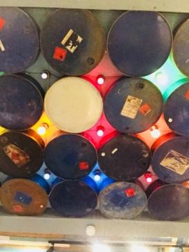 Drum ceiling, The Rum Kitchen